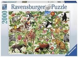Ravensburger puslespel 2000 Jungelen 2000 bitar - Ravensburger