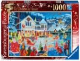 Ravensburger puslespel 1000 Julehuset 1000 bitar - Ravensburger