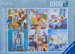 Ravensburger puslespel 1000 Madicken 1000 bitar - Ravensburger