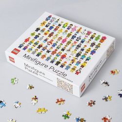 Lego puslespel 1000 Minifigures 1000 bitar - Lego puzzle