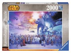 Ravensburger puslespel 2000b Star Wars Univers 2000 bitar - Ravensburger