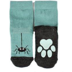 Kattnakken ullsokk antiskli insekt Arctic Blue - Kattnakken