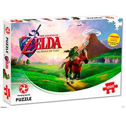 Nintendo puslespel 1000 The legend of Zelda: Ocarina of Time 1000 bitar - Nintendo
