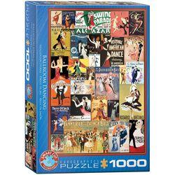 Eurographics puslespel 1000 Ballroom dancing 1000 bitar - Eurographics