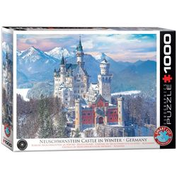 Eurographics puslespel 1000 Neuschwanstein in Winter 1000 bitar - Eurographics