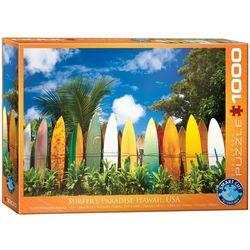 Eurographics puslespel 1000 Surfer's Hawaii Paradis 1000 bitar - Eurographics