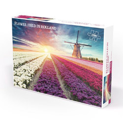 Nordic quality puzzle puslespel 1000 Field in Holland 1000 bitar - Nordic quality puzzle