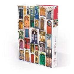 Nordic Quality puzzle puslespel 1000 Oslo Doors 1000 bitar - Nordic quality puzzle