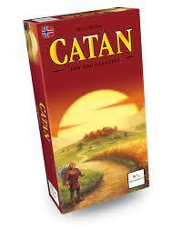 Catan (Grunnspel) Utvidelse for 5-6 spelarar brettspel - Brettspel