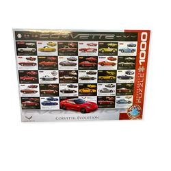 Eurographics puslespel 1000 Corvette Evolution 1000  - Eurographics