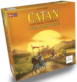 Catan Utvidelse Byer & Riddere brettspel - Brettspel