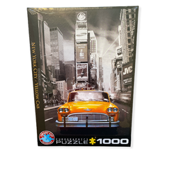 Eurographics puslespel 1000 New York Yellow Cab 1000 bitar - Eurographics