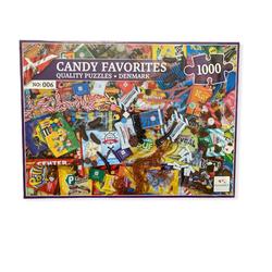 Nordic Quality puzzle puslespel 1000 Candy Favorites DA 1000 bitar - Nordic quality puzzle