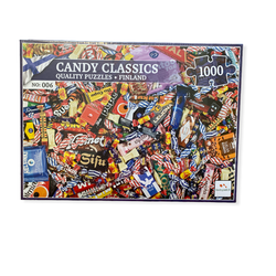 Nordic Quality puzzle puslespel 1000 Finnish Candy 1000 bitar - Nordic quality puzzle