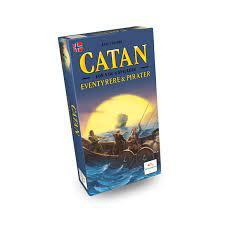 Catan Utvidelse for 5-6 spelarar, for Eventyrere & Pirater brettspel - Brettspel