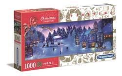 Clementoni puslespel 1000  Christmas Dream Panirama 1000 bitar - Clementoni