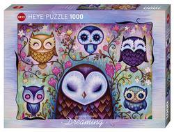 Heye puslespel 1000 Art Dreaming Great Big Owl 1000 bitar  - Heye
