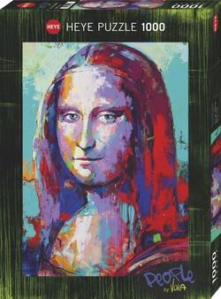 Heye puslespel 1000 Art People Mona Lisa  1000 bitar - Heye