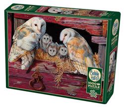 Cobble Hill puslespel 1000 Barn Owls 1000 bitar - Cobble Hill