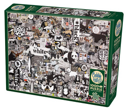 Cobble Hill puslespel 1000 Black & White: Animals  1000 bitar - Cobble Hill