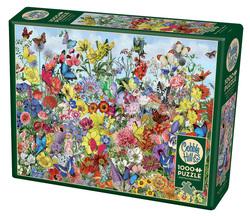 Cobble Hill puslespel 1000 Butterfly Garden 1000 bitar - Cobble Hill