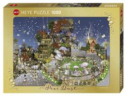 Heye puslespel 1000 Fantasy Pixie Dust Fairy Park 1000 bitar - Heye