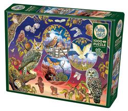 Cobble Hill puslespel 1000 Owl Magic 1000 bitar - Cobble Hill