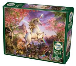 Cobble Hill puslespel 1000 Unicorn 1000 bitar - Cobble Hill