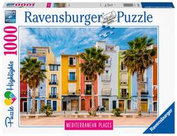 Ravensburger puslespel 1000 Middelhavet Spania 1000 bitar - Ravensburger