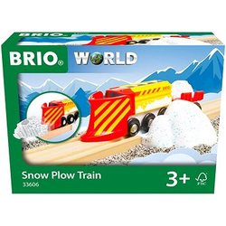 BRIO®World Snow Plow Train Snøplog - Brio