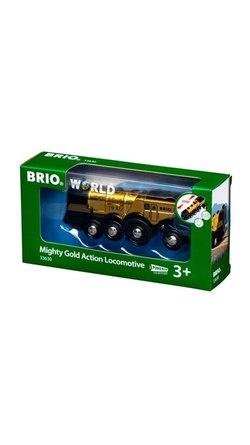 BRIO®World Mighty Gold Action Locomotive Gull tog - Brio