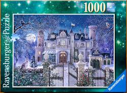 Ravensburger puslespel 1000 Julevilla 1000 bitar - Ravensburger