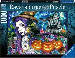 Ravensburger puslespel 1000 Halloween 1000 bitar - Ravensburger