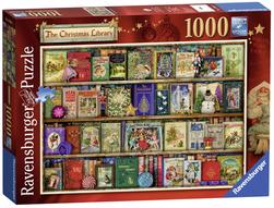 Ravensburger puslespel 1000 Julebibliotek 1000 bitar - Ravensburger