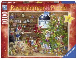 Ravensburger puslespel 1000 Nedtelling til jul 1000 bitar - Ravensburger