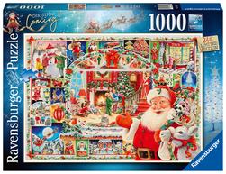 Ravensburger puslespel 1000 Julen kommer 1000 bitar - Ravensburger