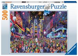 Ravensburger puslespel 500 Nyttår på Times Square 500 bitar - Ravensburger