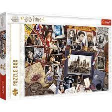 Trefl 500b Hogwart Memories 500 bitar - Trefl