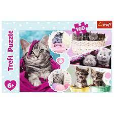 Trefl 160b Lovely Kittens 160 bitar - Trefl