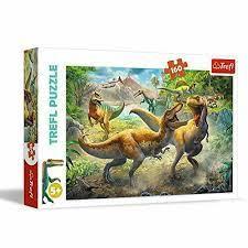 Trefl 160b Fighting Tyrannosaurs 160 bitar - Trefl