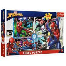 Trefl 160b Spiderman to the rescue 160b - Trefl