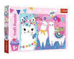 Trefl 100b Happy Llamas 100 bitar - Trefl