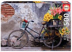 Educa puslespel 500 Bicycle with flowers 500 bitar - Educa