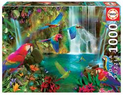 Educa puslespel 1000 Tropical parrots 1000 bitar - Educa