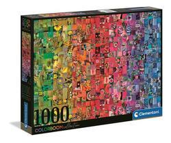 Clementoni puslespel 1000 color boom 1000 bitar - Clementoni