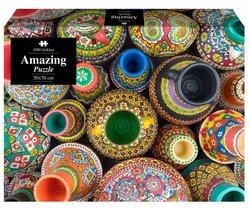 1Conzept puslespel 1000 Amazing Indian Pots 1000 bitar - 1conzept
