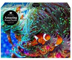 1Conzept puslespel 500 Amazing The Coral Reef Rund 500 bitar - 1conzept