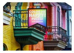 1Conzept puslespel 1000 Color Me Happy Balconies 1000 bitar - 1conzept