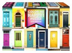 1Conzept puslespel 1000 Color Me Happy Doors 1000 bitar - 1conzept