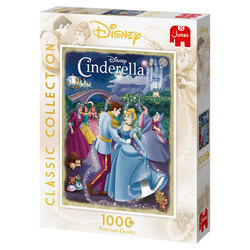 Jumbo puslespel 1000 Cinderella 1000 bitar - Jumbo